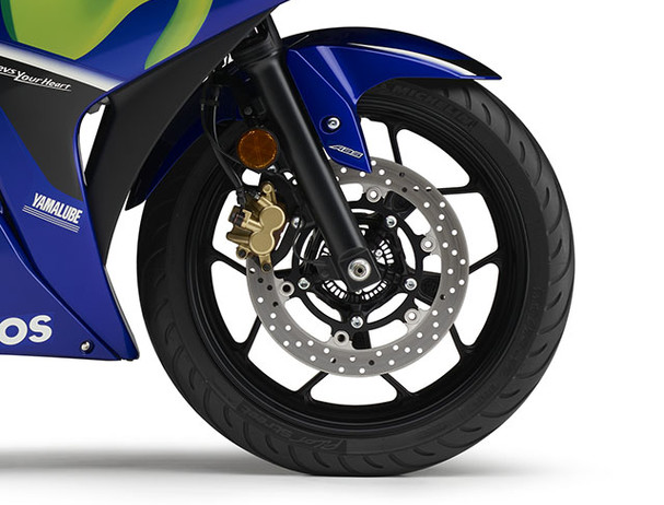 Yamaha YZF-R3SP Movistar ABS breaking system