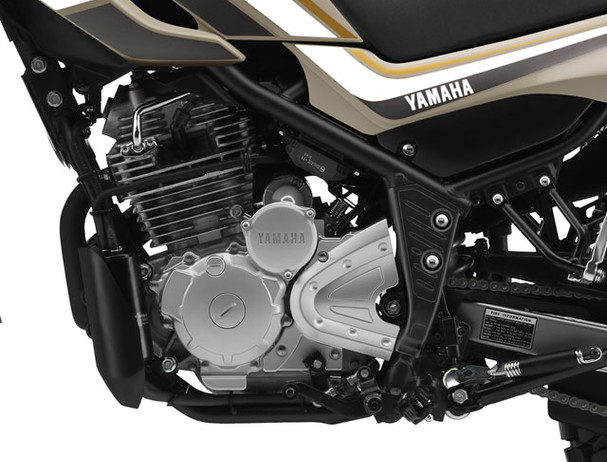 Yamaha XT250 steel frame