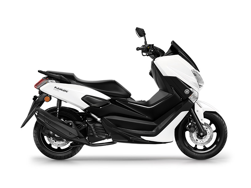 Yamaha NMAX 155 in milky white colour