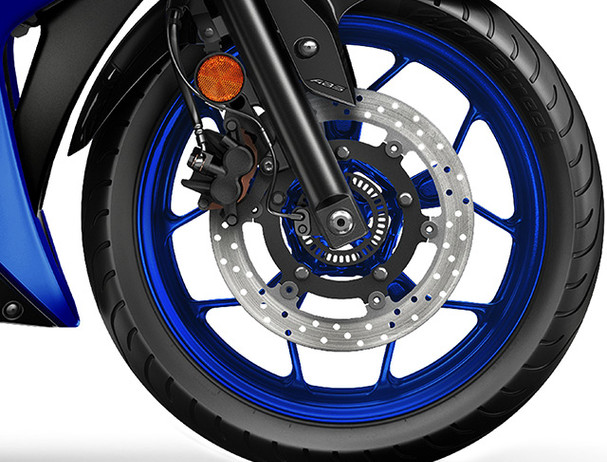 Yamaha YZF-R3 2018 cast wheel with abs system