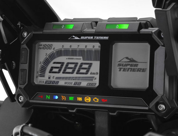 Yamaha XT1200Z Traction Control system