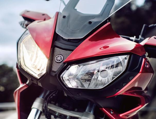 Yamaha Tracer 700 dual headlights