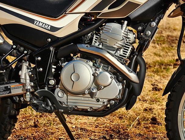 Yamaha XT250 engine
