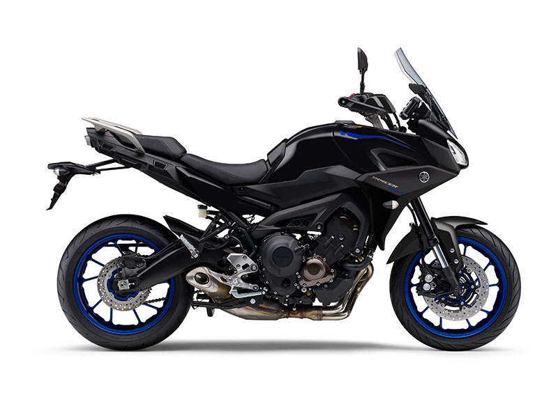 Yamaha Tracer 900 in Tech Black colour