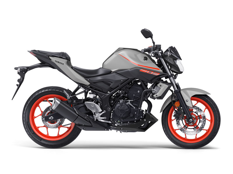 Yamaha MT-03 2019 in Ice Fluo colour