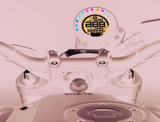 Yamaha XSR900 D-MODE selection system