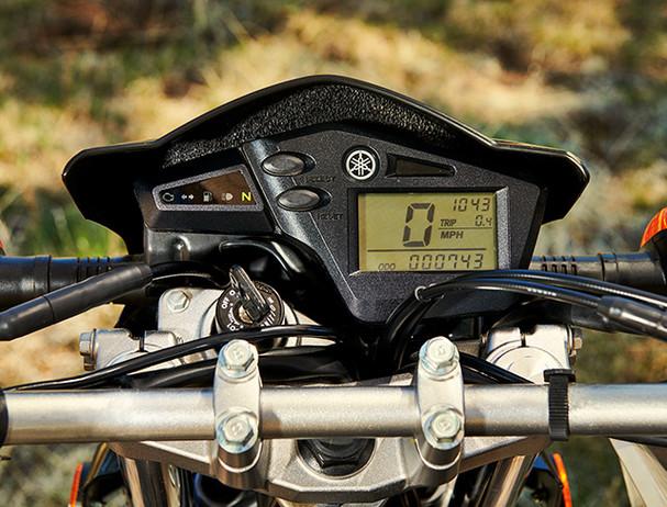 Yamaha XT250 handling