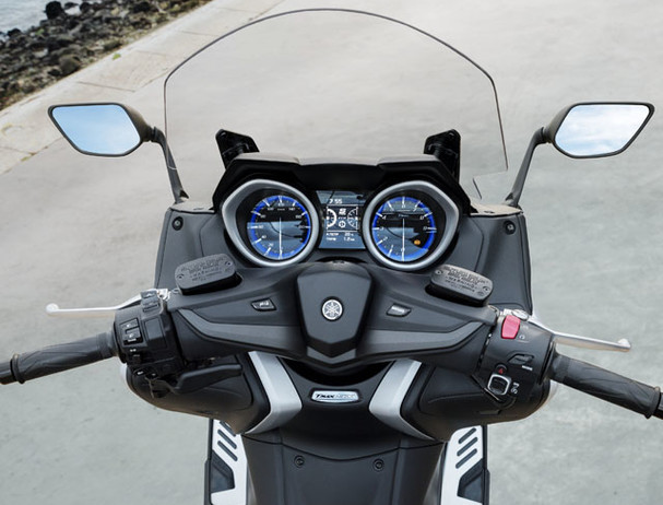Yamaha TMAX 530 SX smartkey ignition
