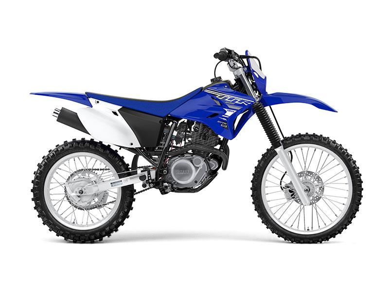 Yamaha TT-R230 in Team Yamaha Blue and White colour