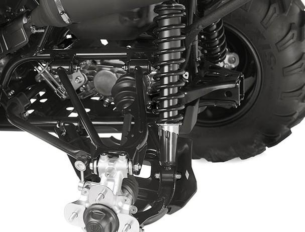 Yamaha Kodiak 700 EPS suspension
