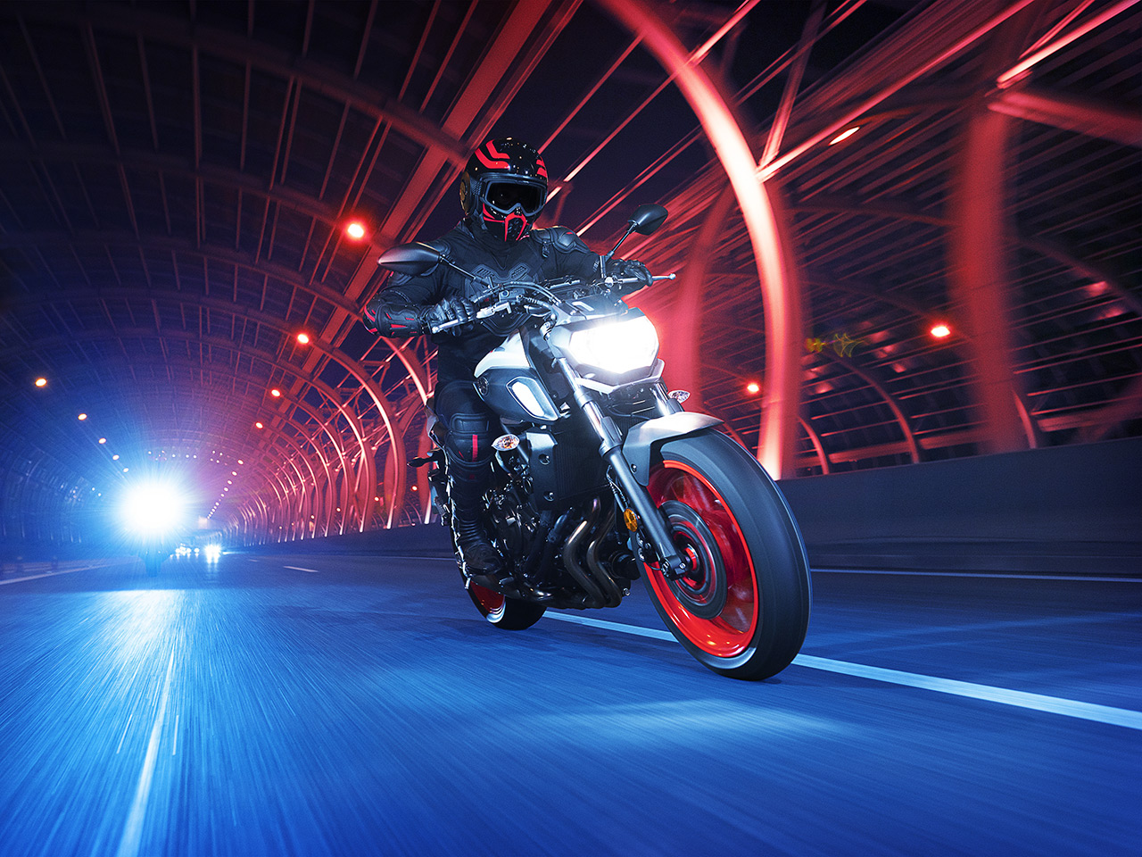 Yamaha MT-07 in Ice Fluo colour