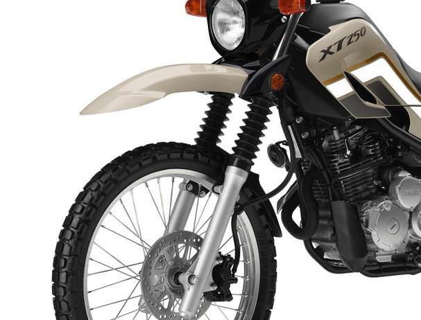 Yamaha XT250 mass centralisation