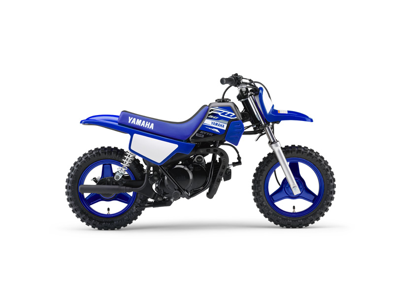 Yamaha PW50 in Team Yamah Blue And white colour