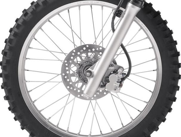 Yamaha TT-R230 drum brakes
