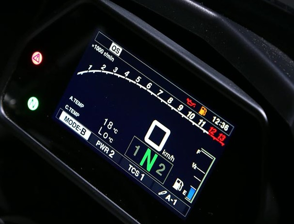 Yamaha MT-10SP Traction Control System