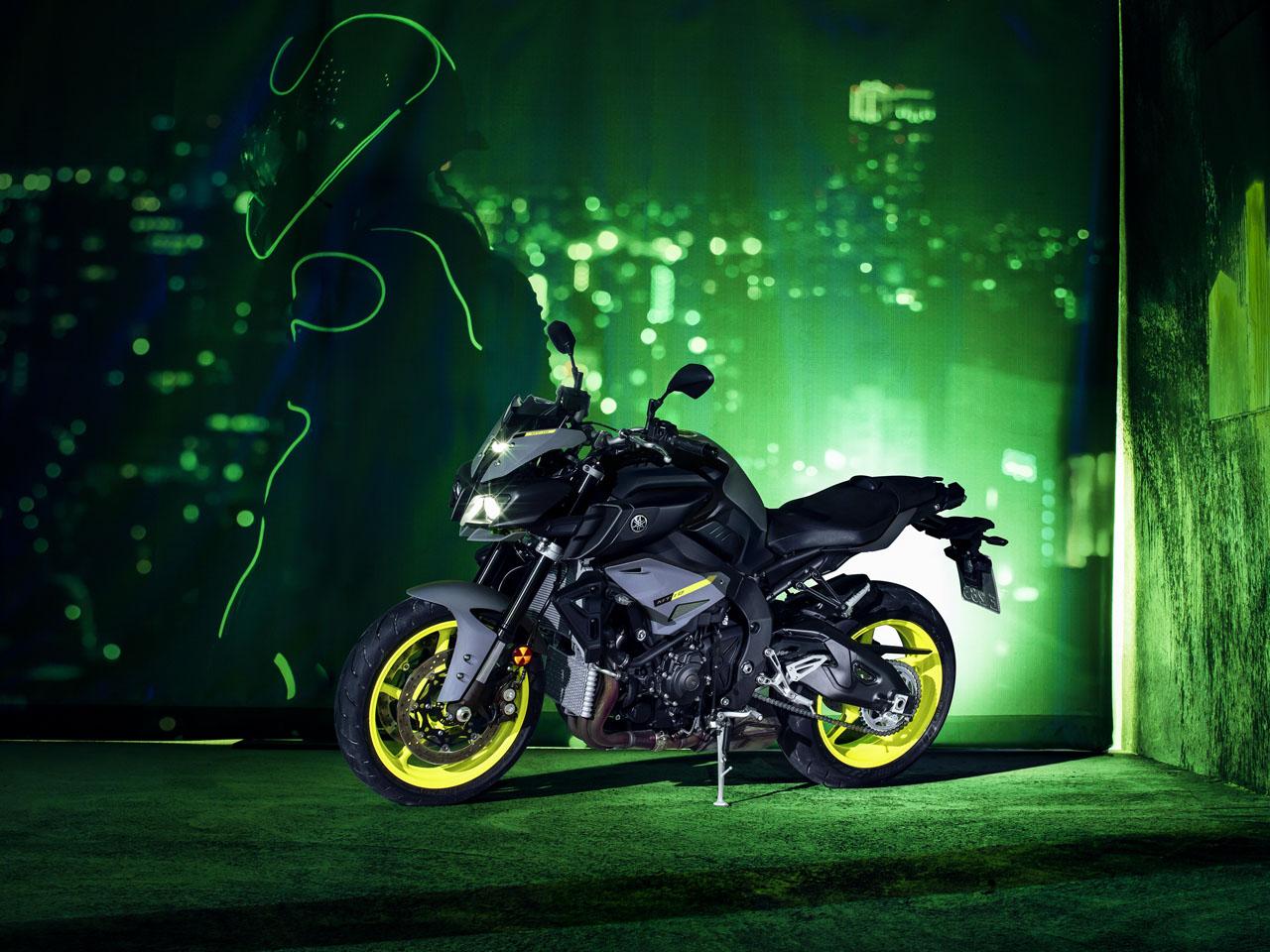 Yamaha MT-10 in Night Fluro colour
